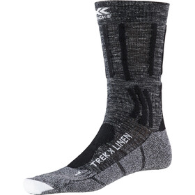 X-Socks Trek X Linen Socks Men dolomite grey melange/opal black